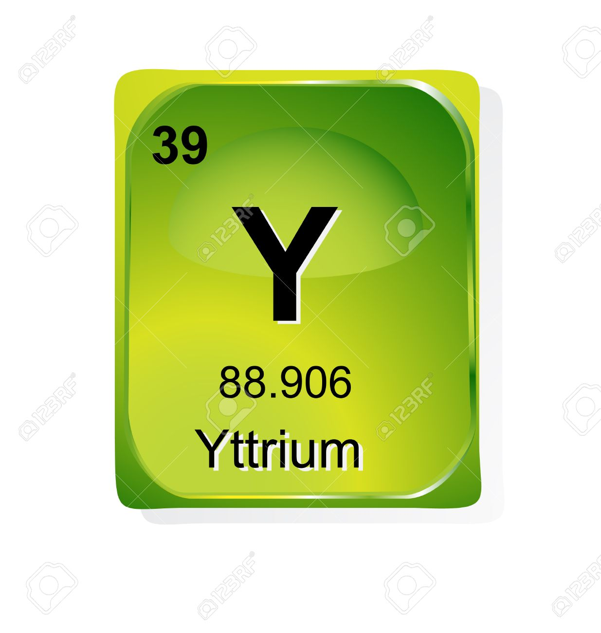 Yttrium chemical element with atomic number symbol and weight yttrium chemical element with atomic number symbol and weight stock vector 24509765 urtaz Images