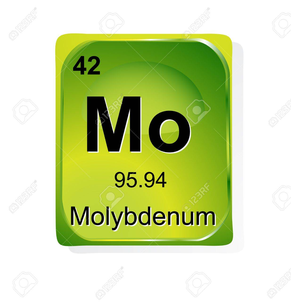 Molybdenum chemical element with atomic number symbol and weight molybdenum chemical element with atomic number symbol and weight stock vector 24509767 buycottarizona Choice Image