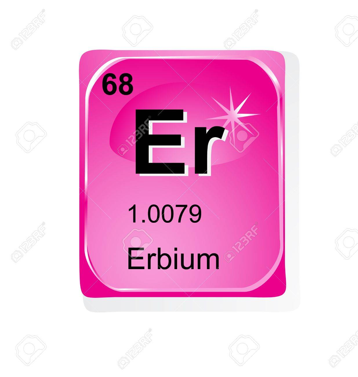 Erbium chemical element with atomic number symbol and weight erbium chemical element with atomic number symbol and weight stock vector 28460830 buycottarizona