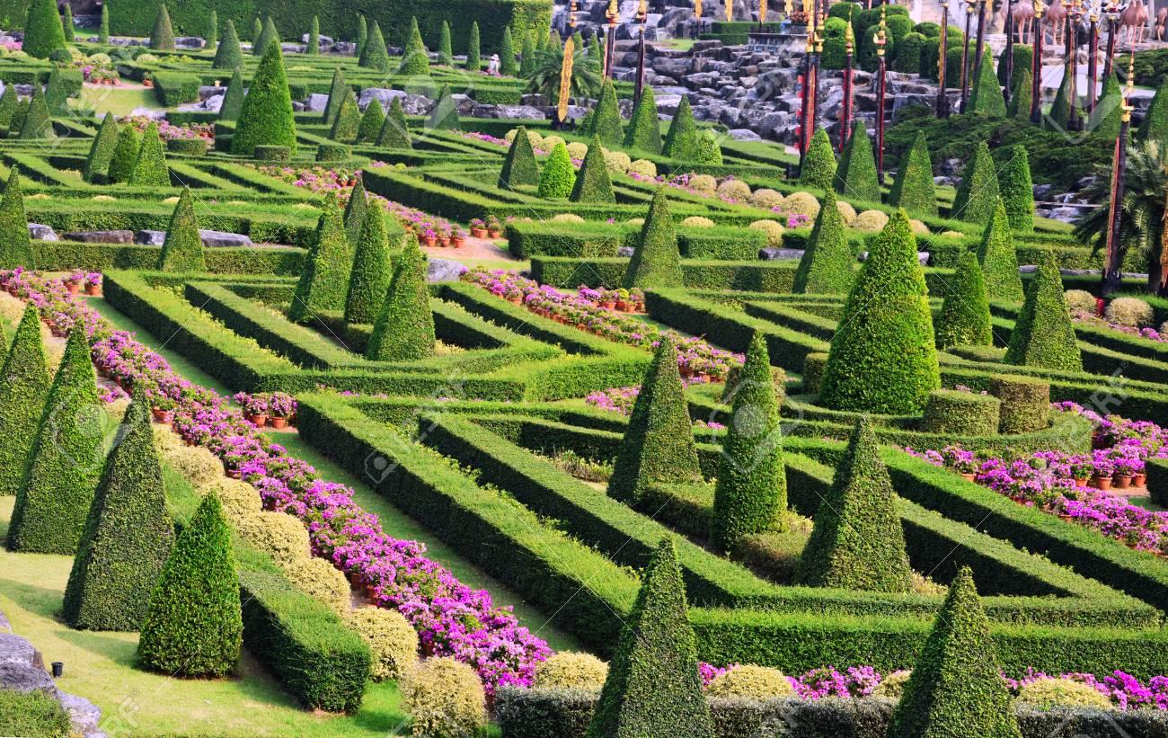 Nong Nooch Tropical Botanical Garden, Pattaya City, Thailand Stock Photo - 106023168