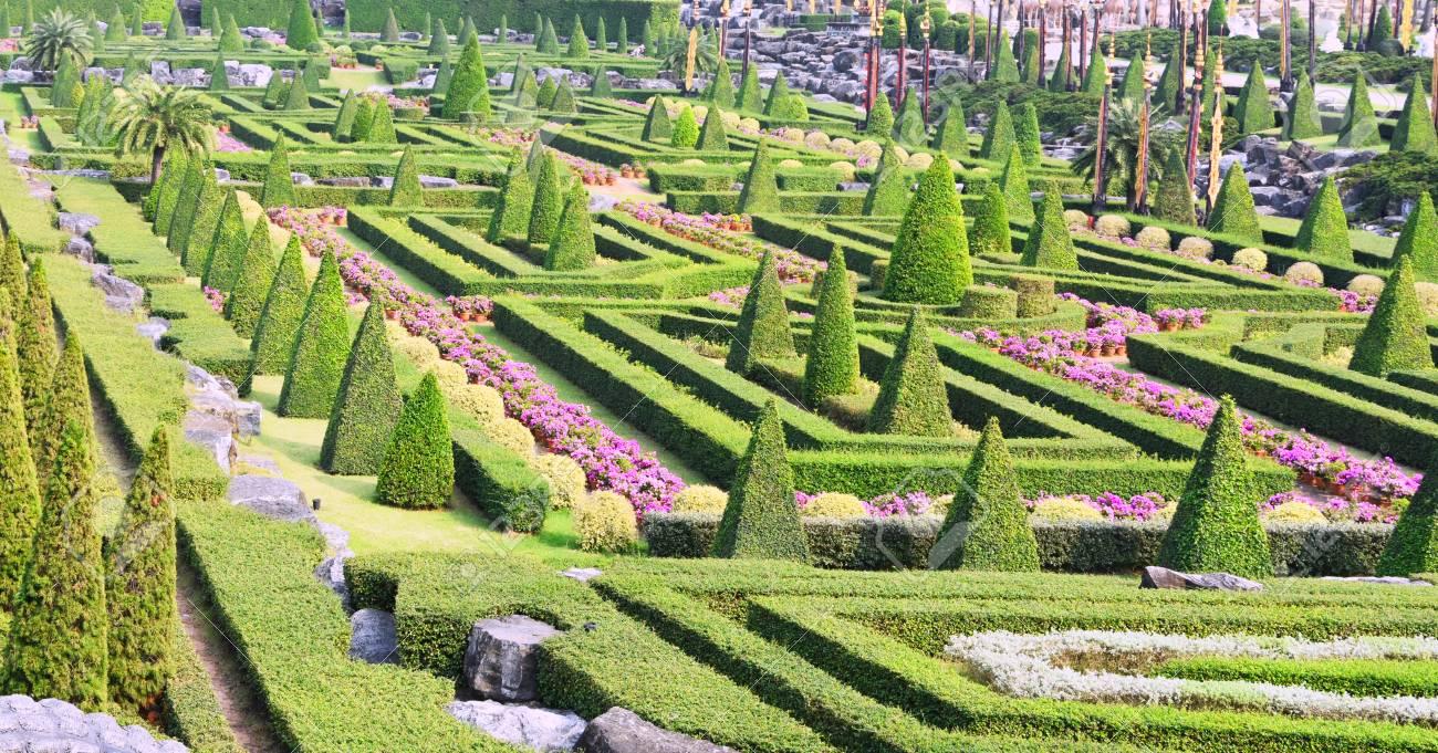 Nong Nooch Tropical Botanical Garden, Pattaya City, Thailand Stock Photo - 98138557
