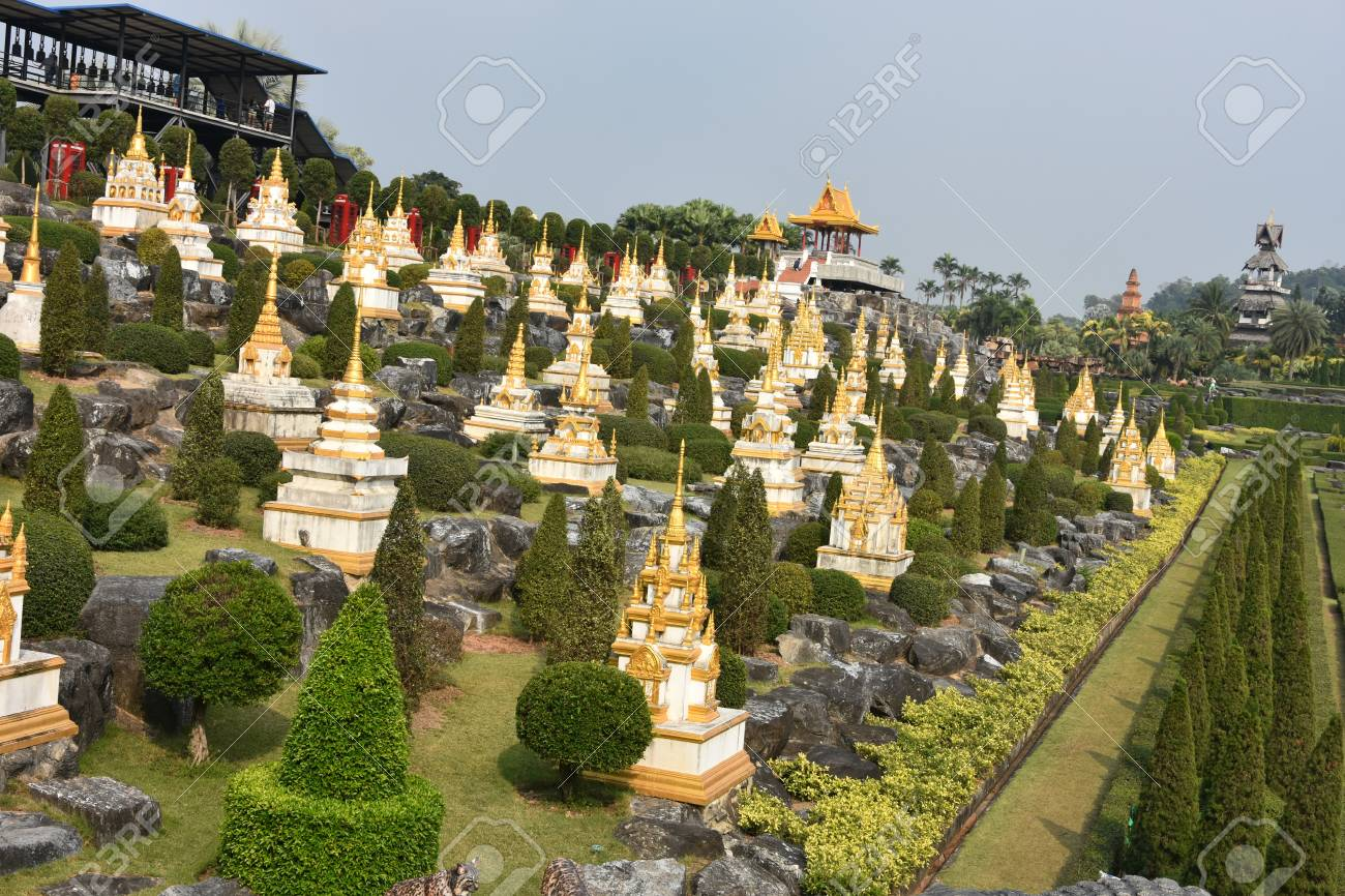 Nong Nooch Tropical Botanical Garden, Pattaya City, Thailand Stock Photo - 98131407