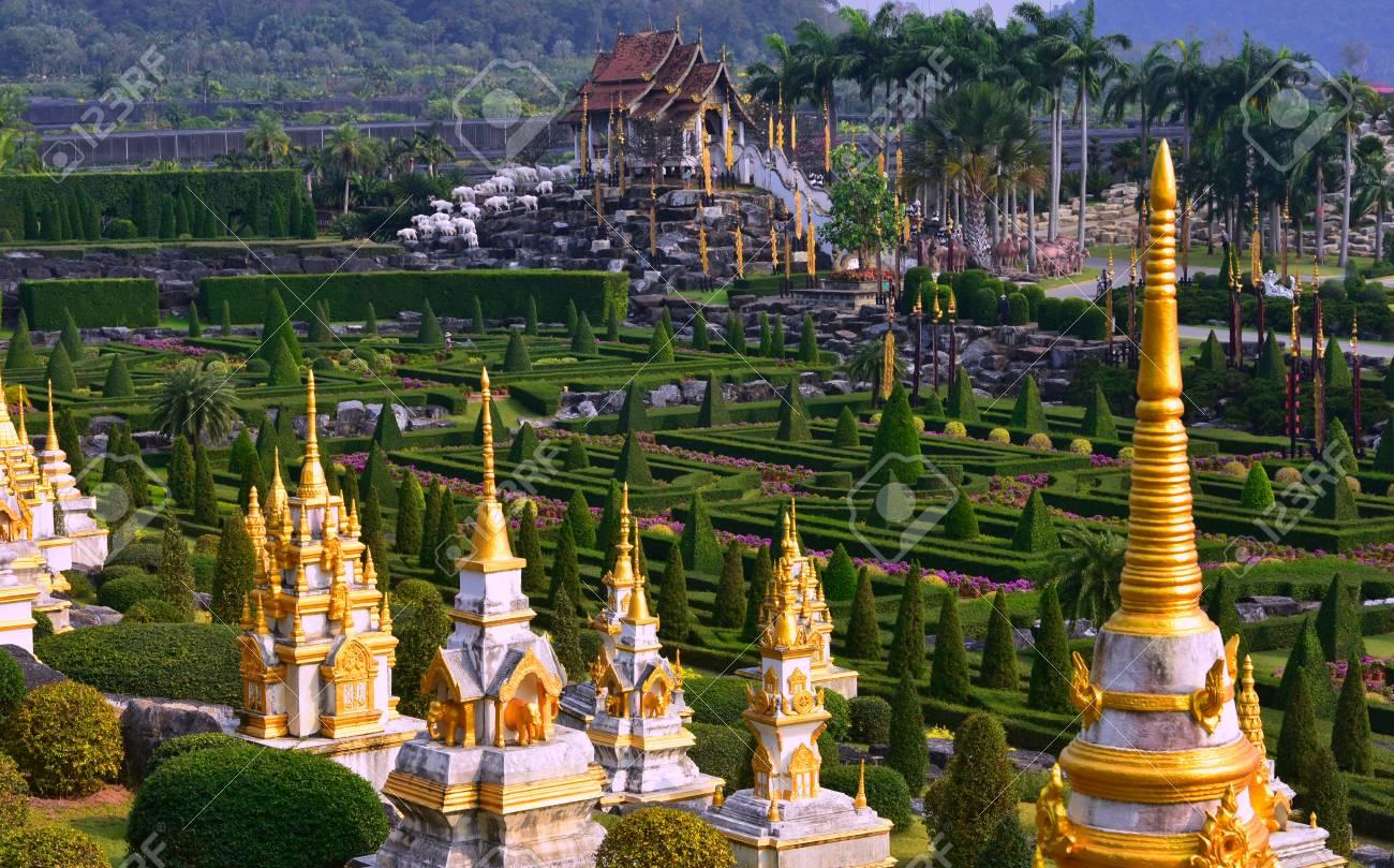 Nong Nooch Tropical Botanical Garden, Pattaya City, Thailand Stock Photo - 98131410