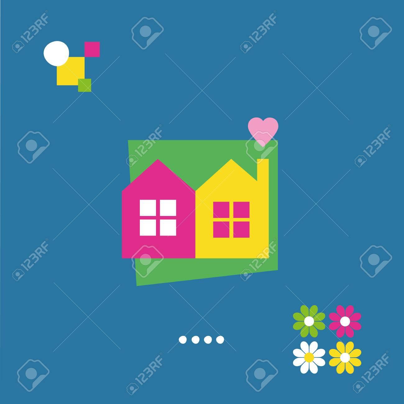 Housewarming greeting card royalty free cliparts vectors and housewarming greeting card stock vector 29952647 kristyandbryce Image collections