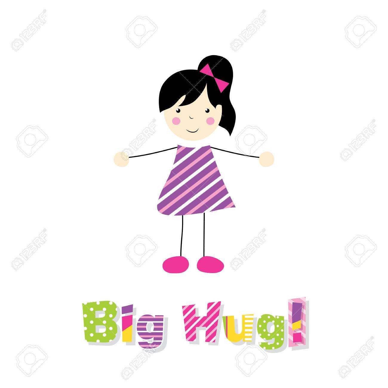 Free hugs black girl big