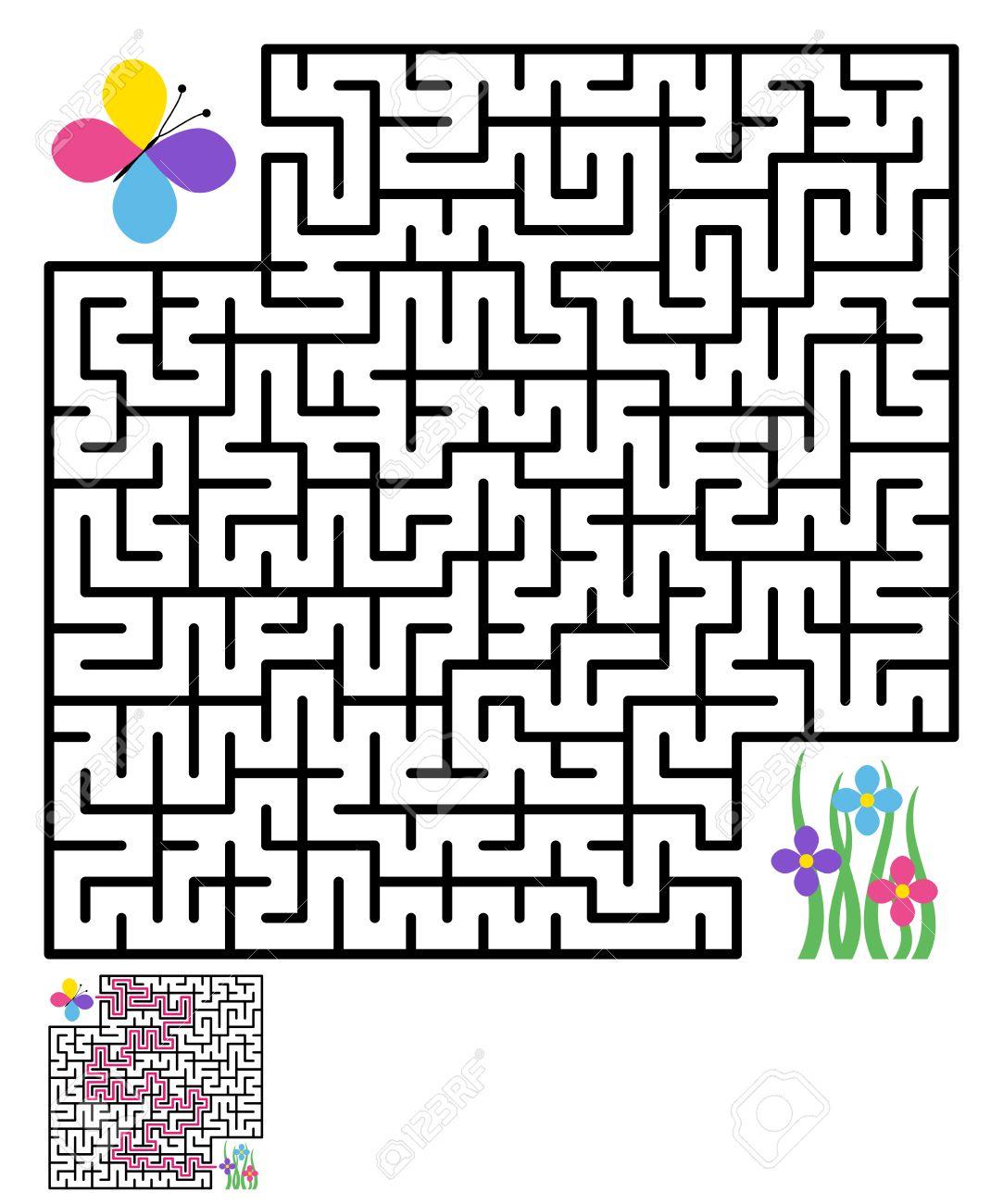 Labyrinth Maze Puzzle Labyrinth Labyrinth Maze Game Maze Kids