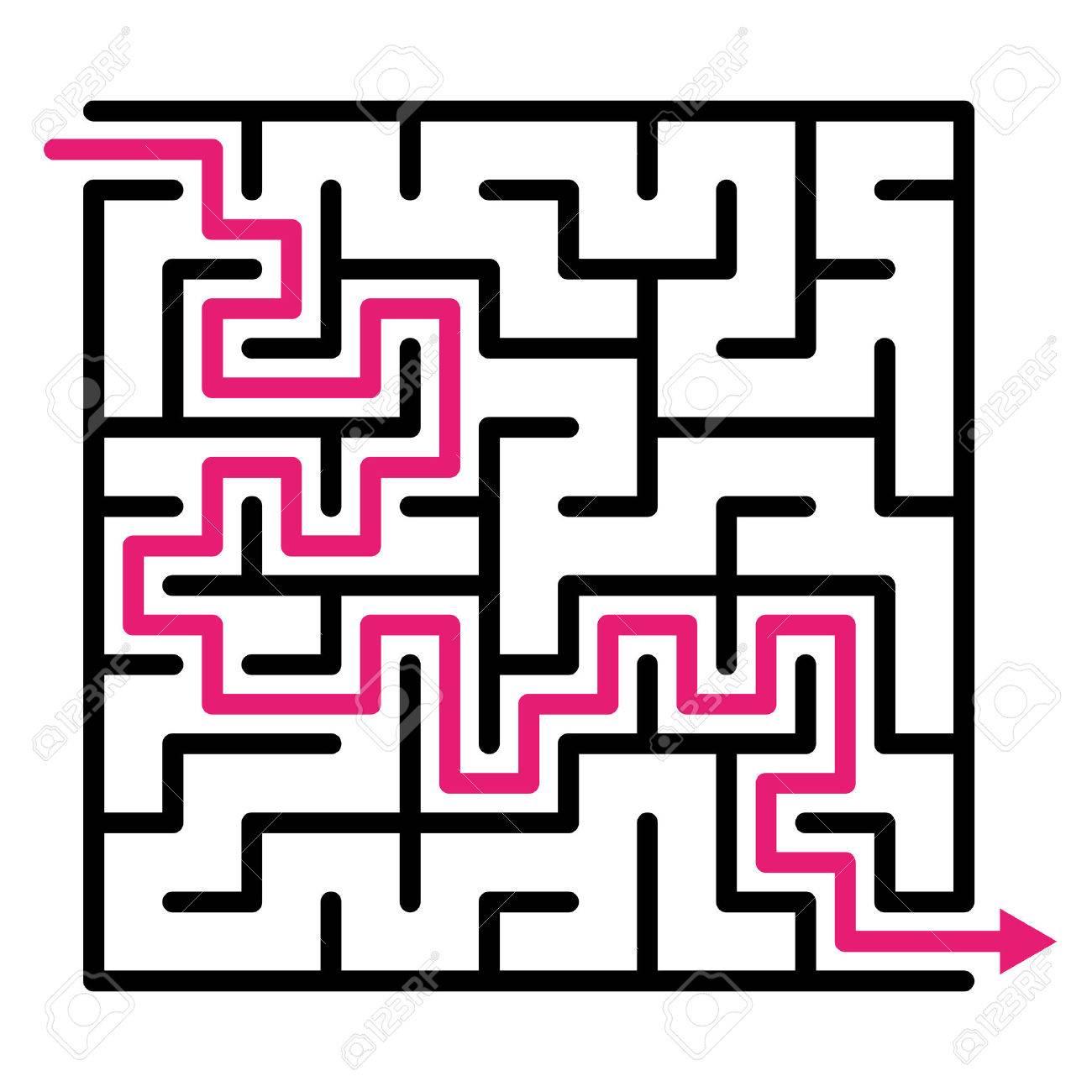 Labyrinth Maze Puzzle Labyrinth Vector Labyrinth Maze Game