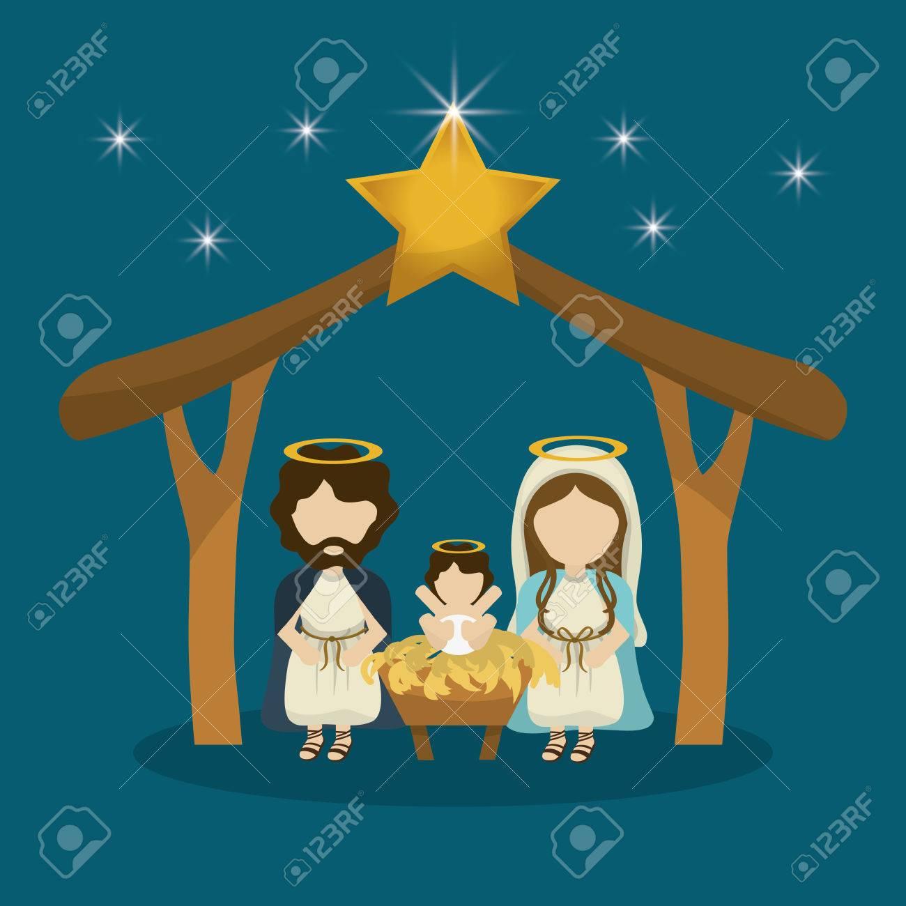 Frohe Weihnachten Familie.Stock Photo