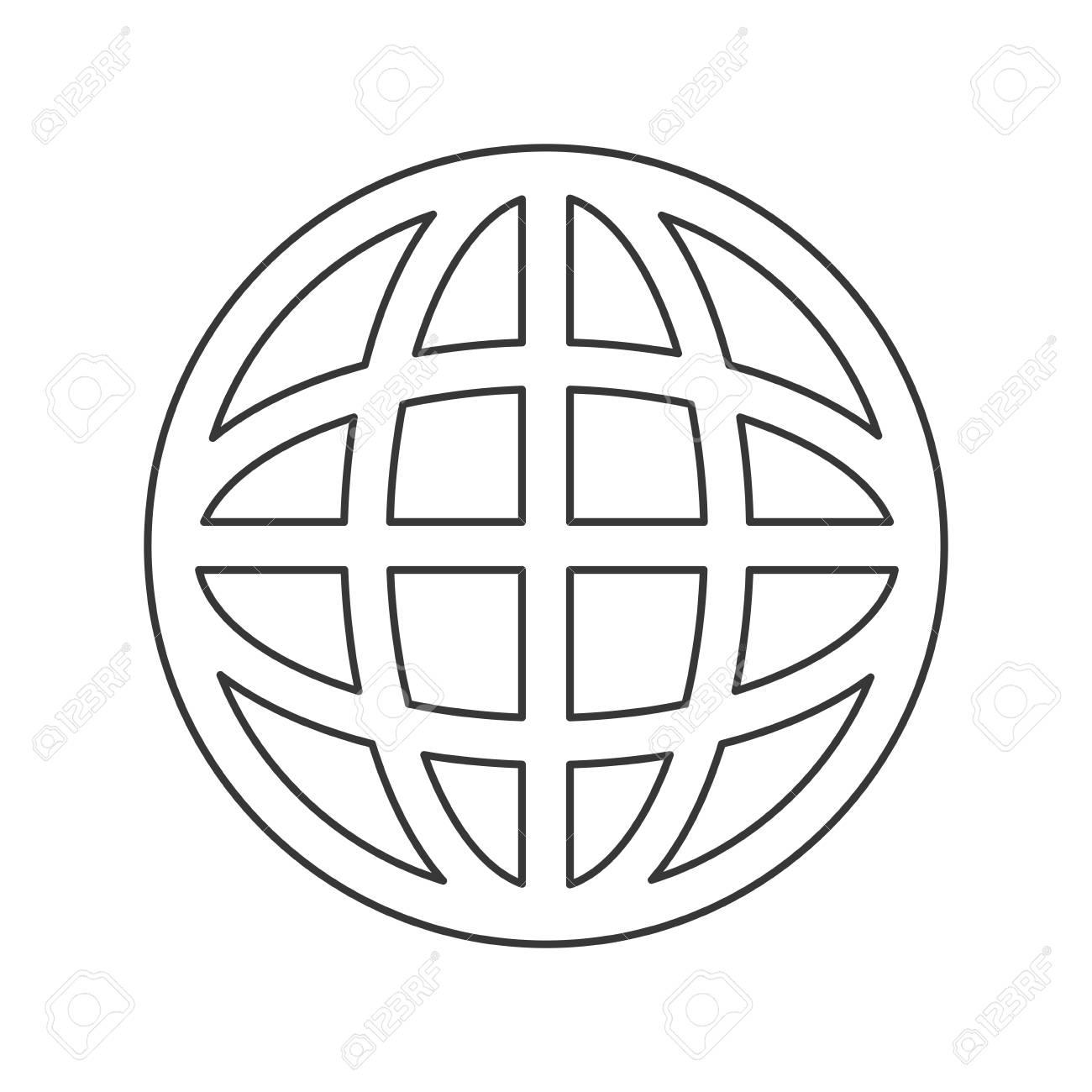 simple flat design earth globe diagram icon vector illustration User Icon simple flat design earth globe diagram icon vector illustration stock vector 59317264