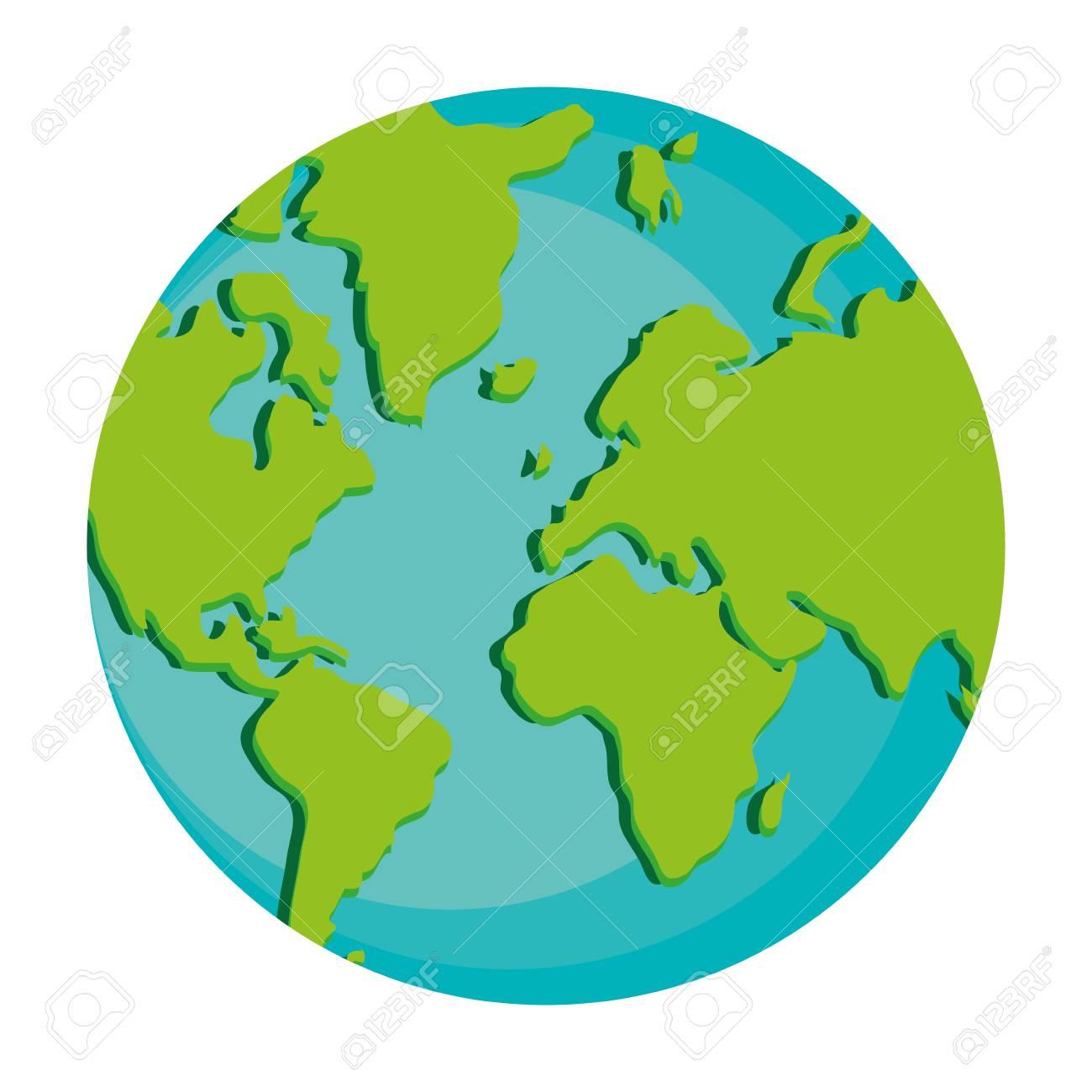 flat design earth globe icon vector illustration royalty free rh 123rf com globe vector free black and white globe vector freepik