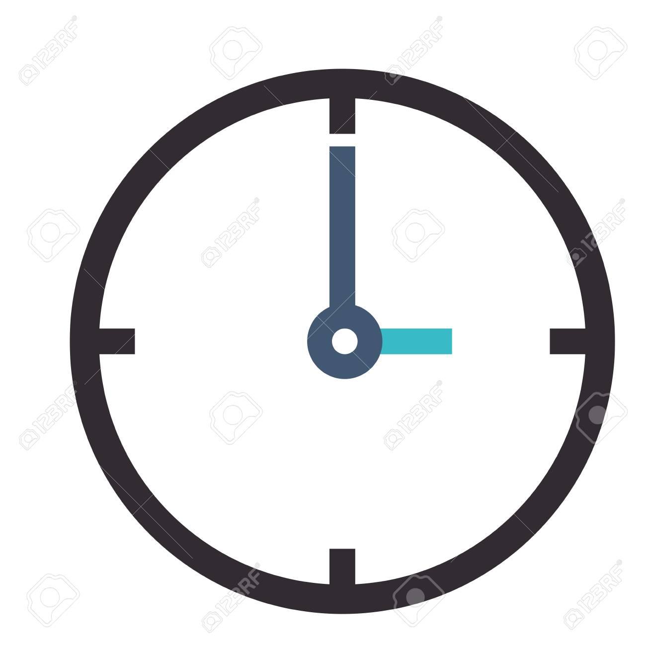 flat design simple clock icon vector illustration royalty free rh 123rf com sand clock icon vector clock icon vector free