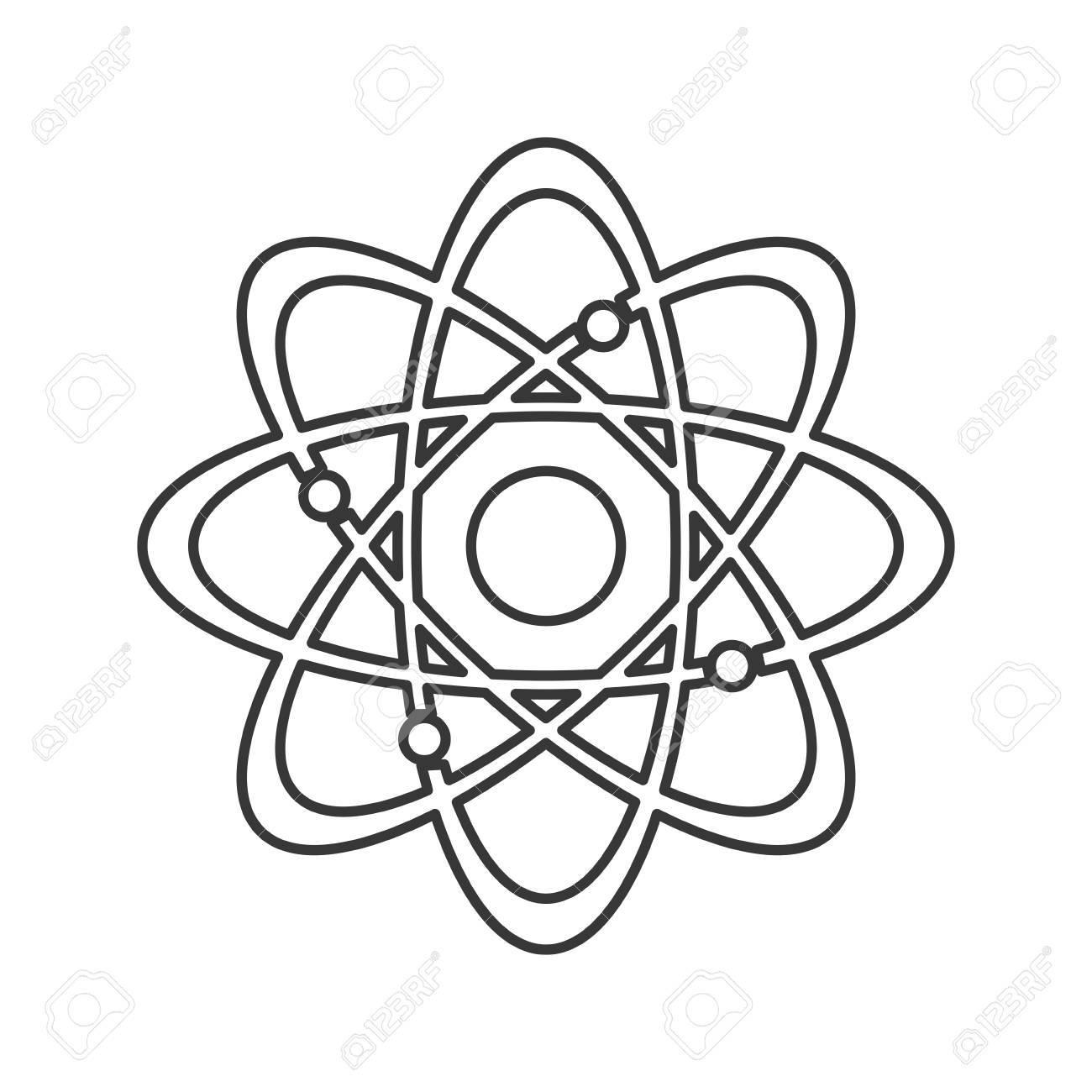 Flat design atom structure icon vector illustration royalty free flat design atom structure icon vector illustration stock vector 61271899 ccuart Images