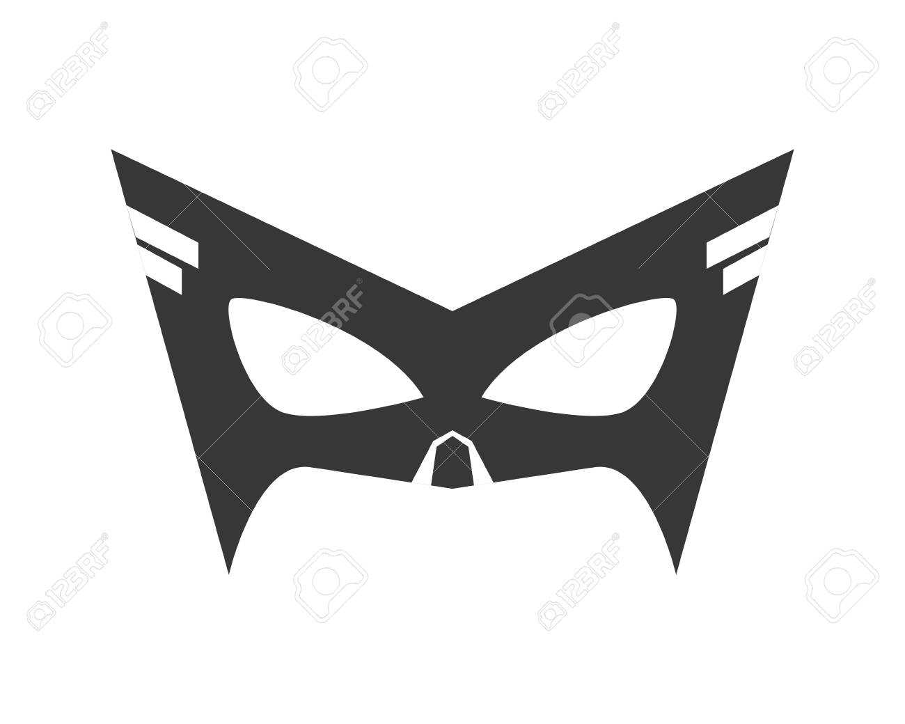 Unique Lone Ranger Mask Template Crest - Professional Resume ...