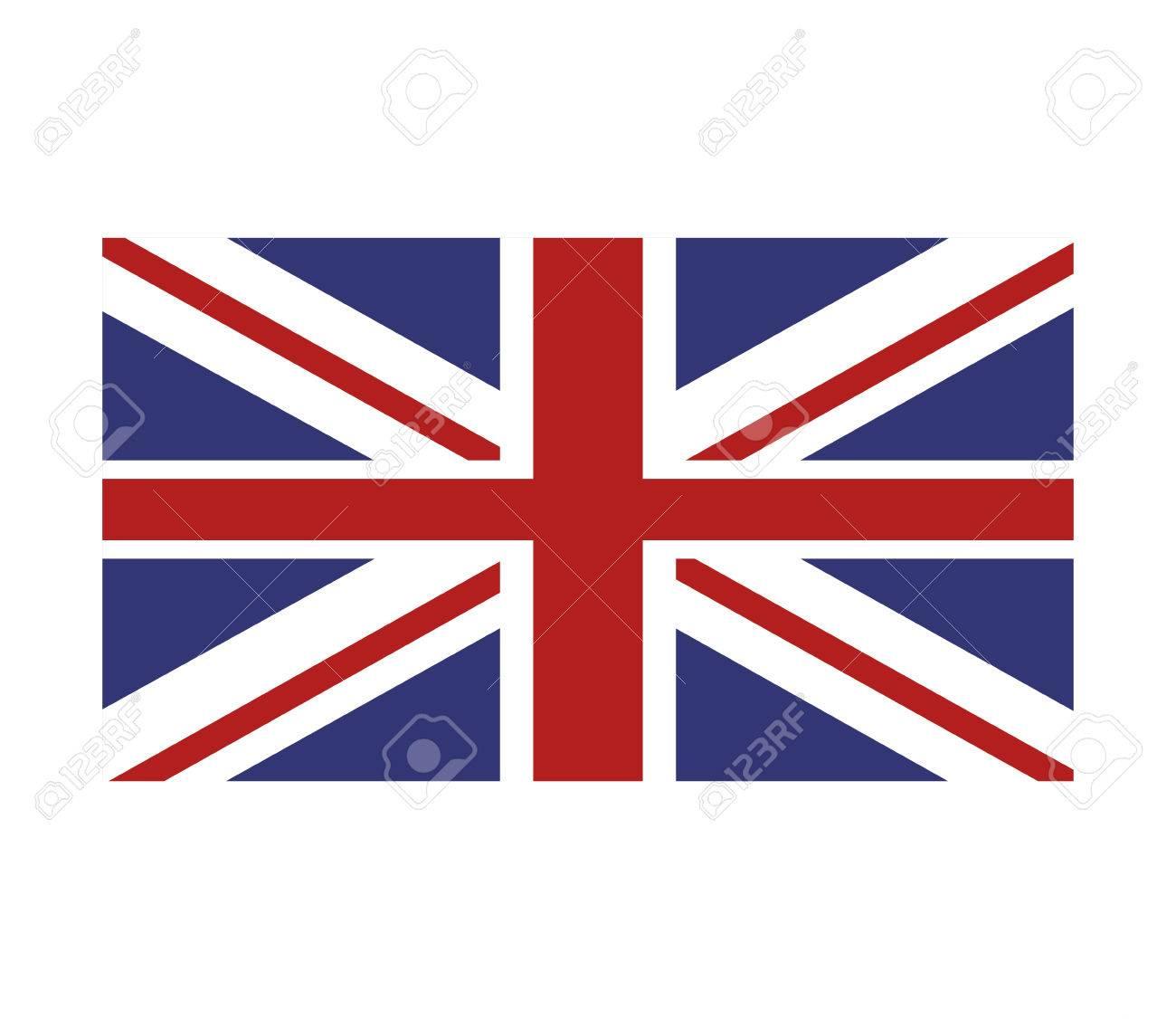 flat design union jack great britain flag icon vector illustration rh 123rf com union jack vectoriel union jack vector file