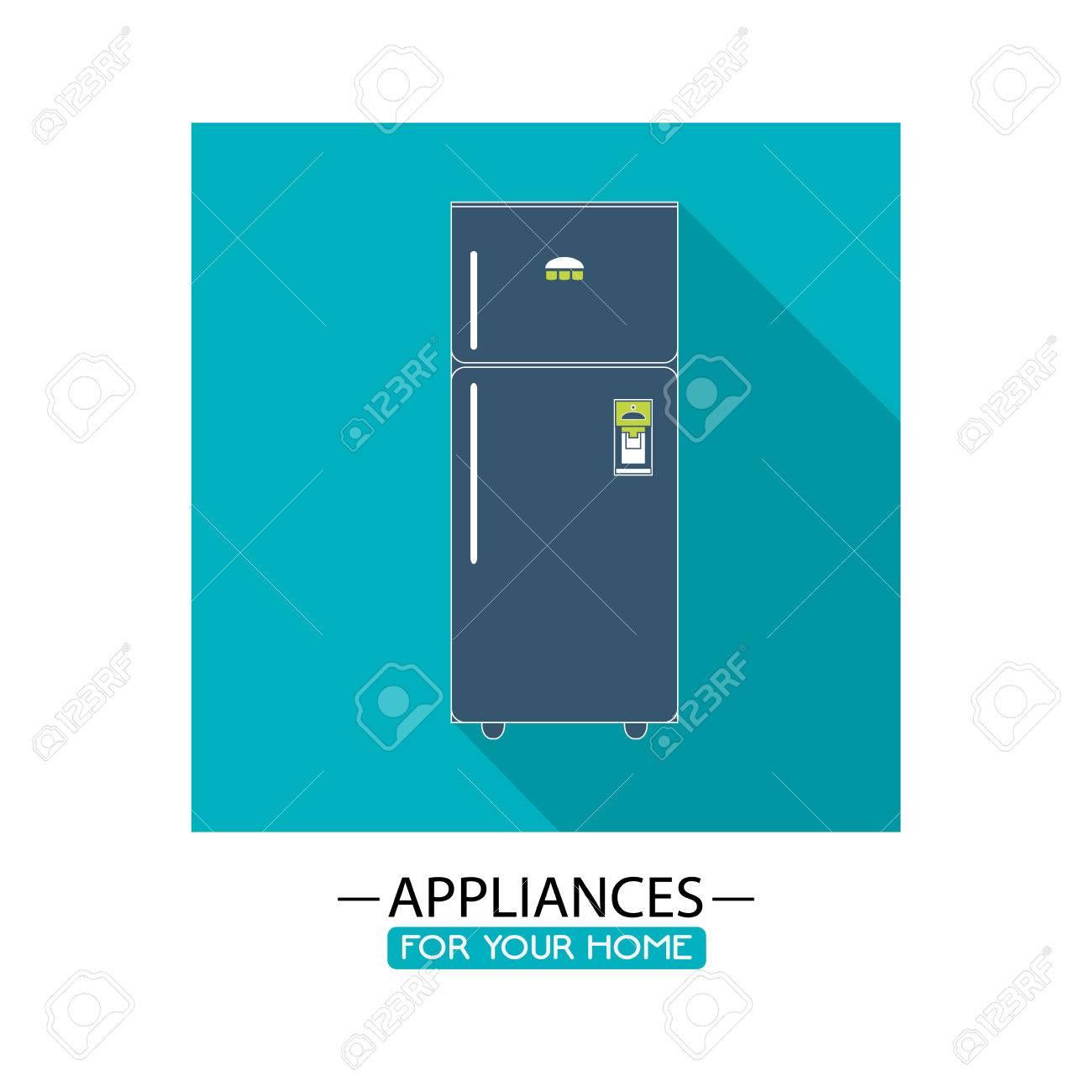 Kühlschrank-Symbol. Elektronische Geräte Und Zubehör Für Ihr Zuhause ...