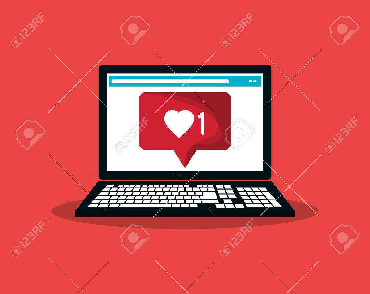 notification icon in communication related image vector illustration design - 64670233