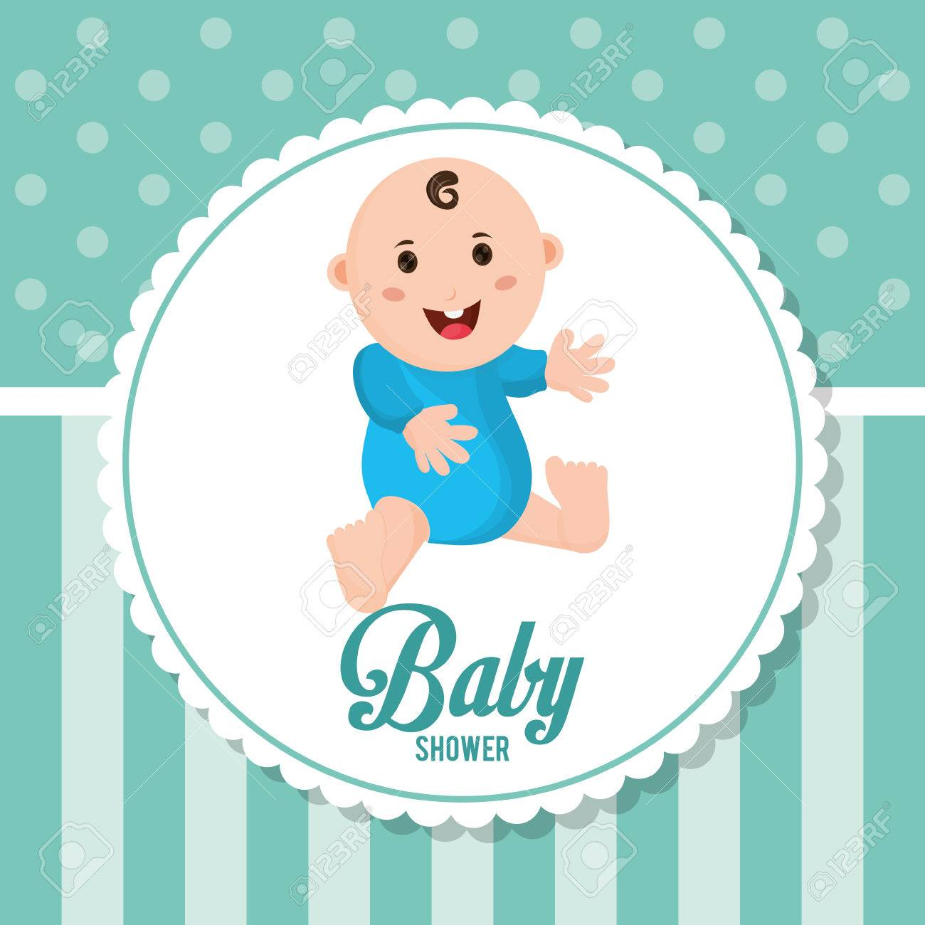 baby boy icon baby shower card and childhood theme colorfulbaby boy icon baby shower card and childhood theme colorful design vector illustration