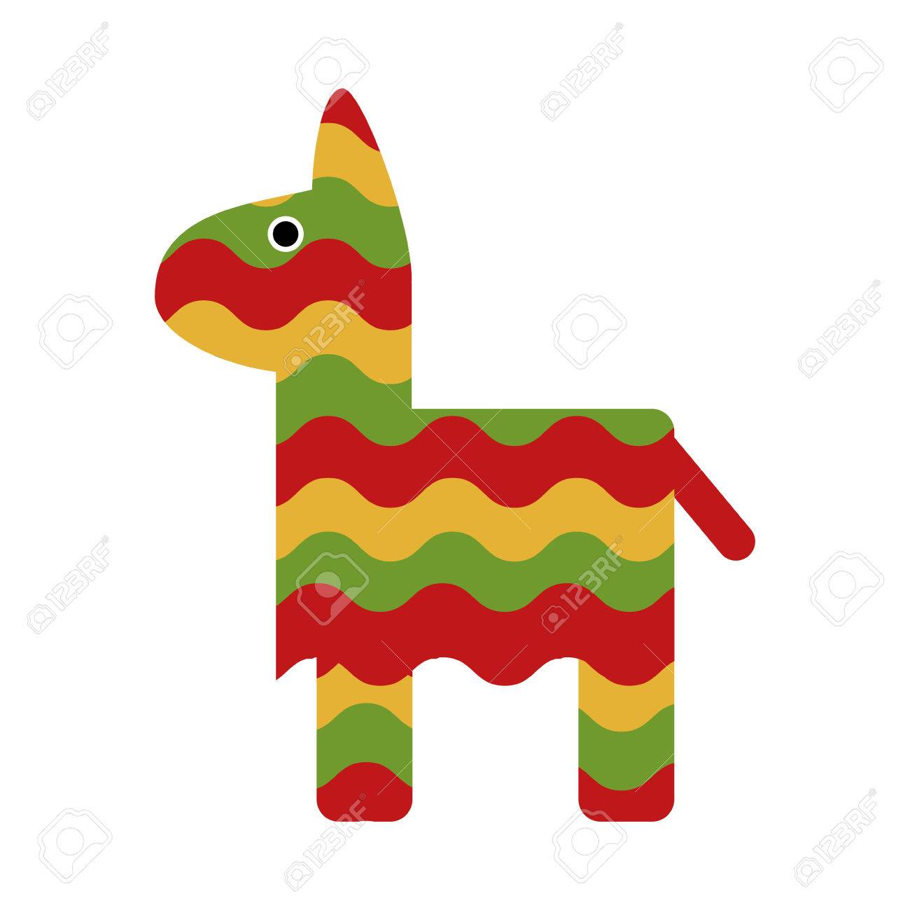 pinata icon mexican culture tourism landmark and latin theme