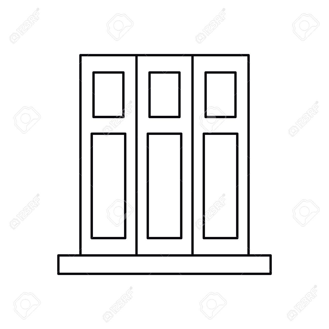 Piktogramm Gesetzt Buch Ordner Buro Design Elemente Vektor