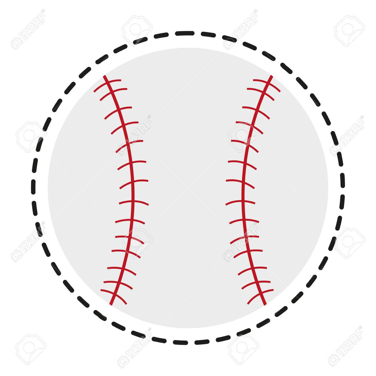 baseball toy icon childhood play game and object theme isolated rh 123rf com baseball vector graphic Baseball T-Shirt Designs