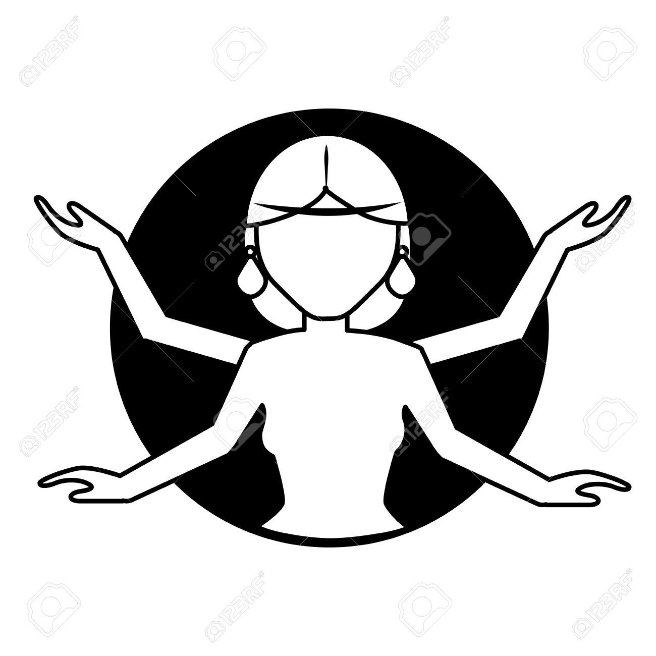 Shiva indian god icon vector illustration graphic design Stock Vector - 69562136