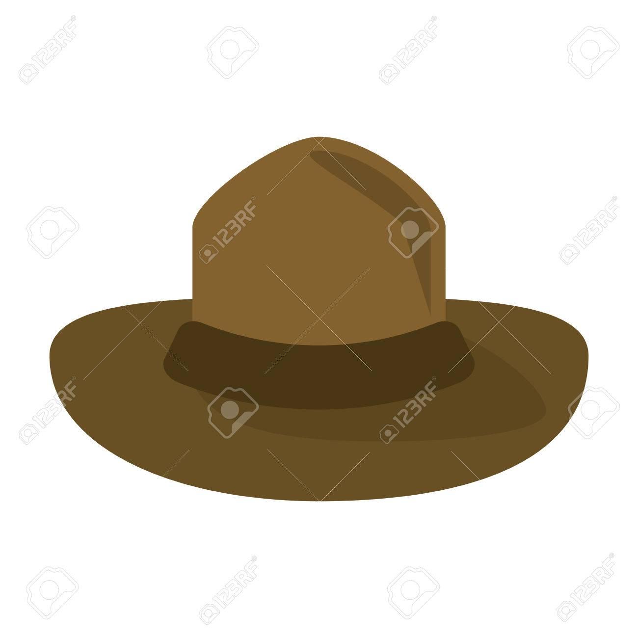 Canadiense sombrero montado policía diseño vector ilustración eps10 Foto de  archivo - 67332056 829426fdf2c