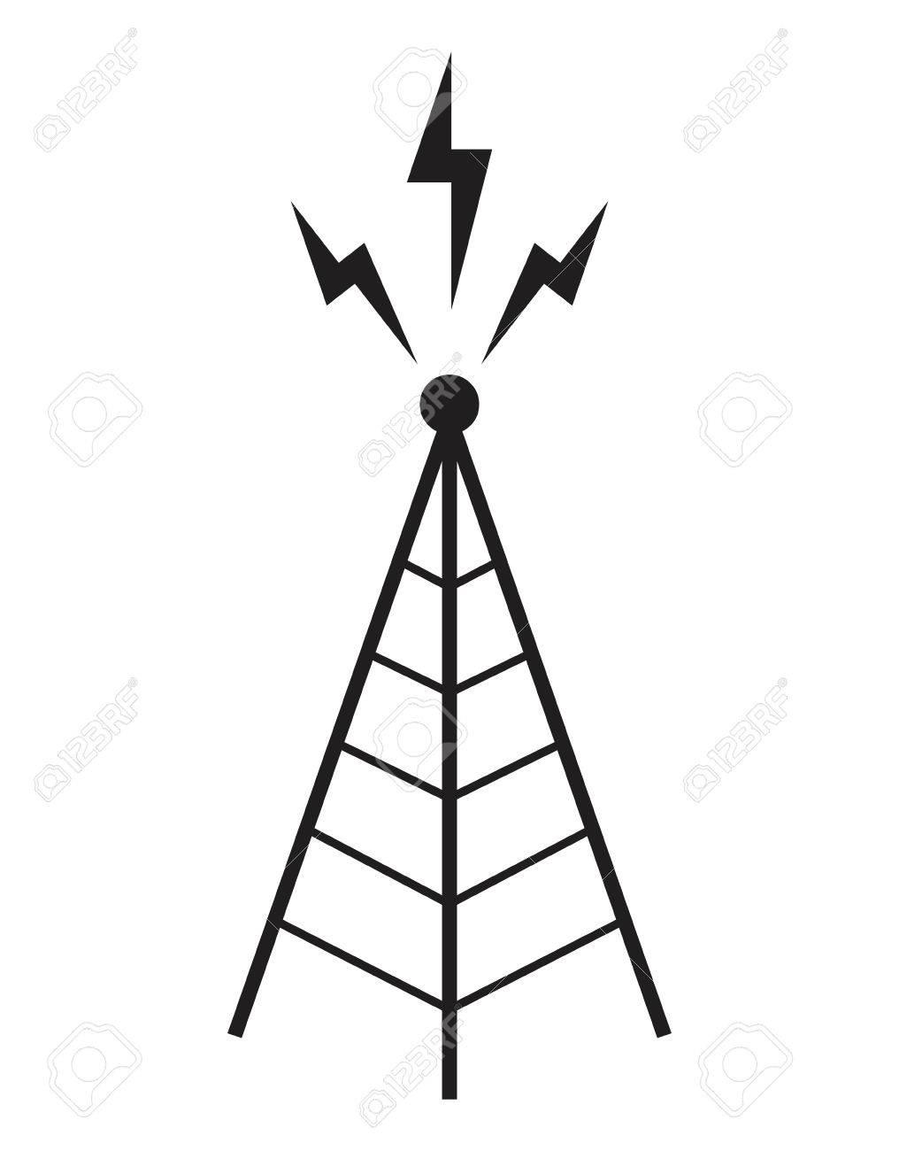 Torre De Radio Mástil De La Antena De Comunicaciones