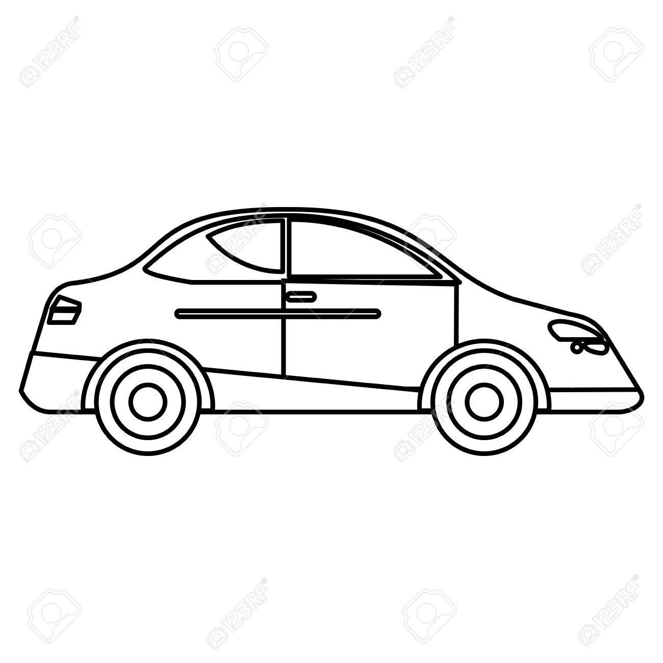 Car sedan vehicle transport outline vector illustration eps 10 car sedan vehicle transport outline vector illustration eps 10 stock vector 74684158 malvernweather Images