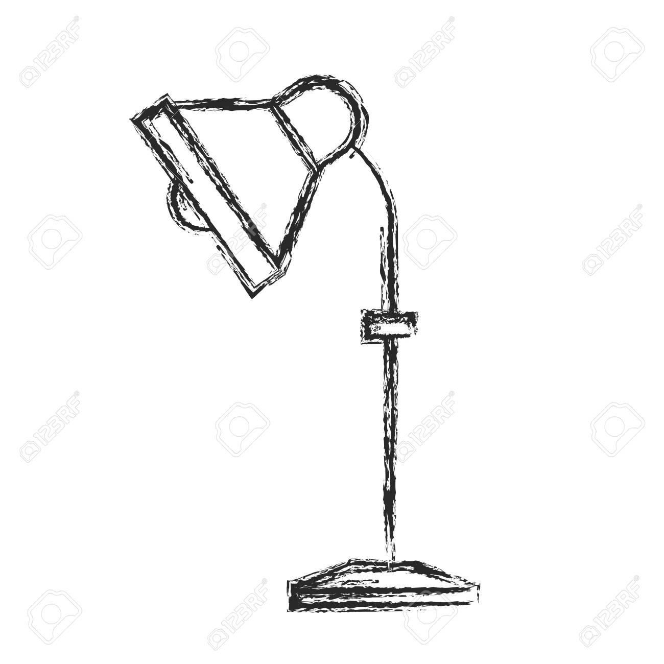 de equipo ilustración de Lámpara escritorio dibujo vectorial electricidad sdCBhQrotx