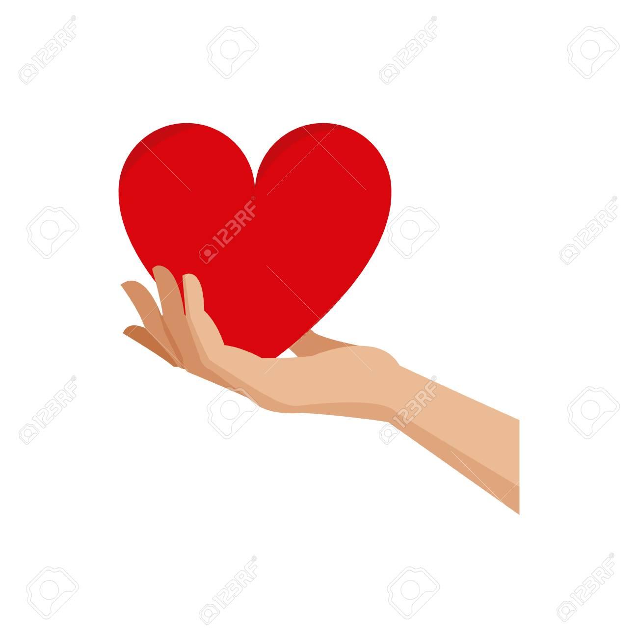 Hand holding heart blood donation symbol vector illustration hand holding heart blood donation symbol vector illustration stock vector 77529319 buycottarizona