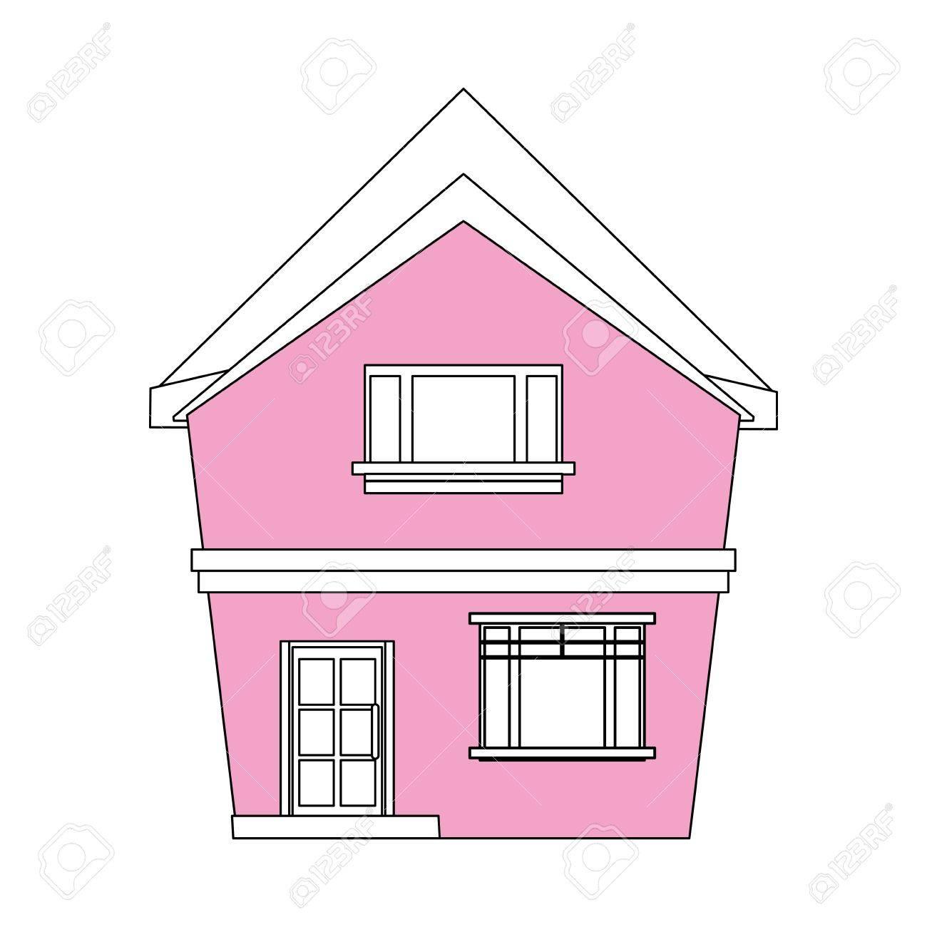 House Cartoon Color Image Logo   colorimage.website