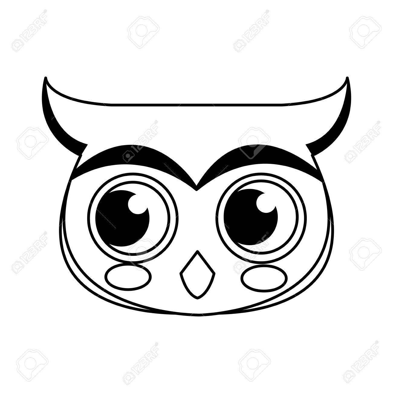 owl-sweet-cartoon-vector-graphic_1360927061335.jpg (335×355) | Owl drawing  simple, Owls drawing, Cute owl drawing