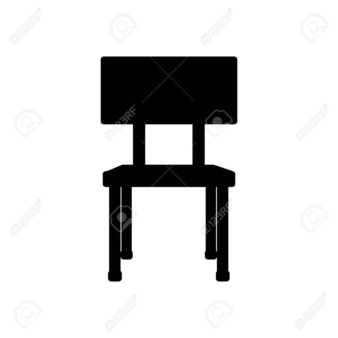desk black and white - Clip Art Library