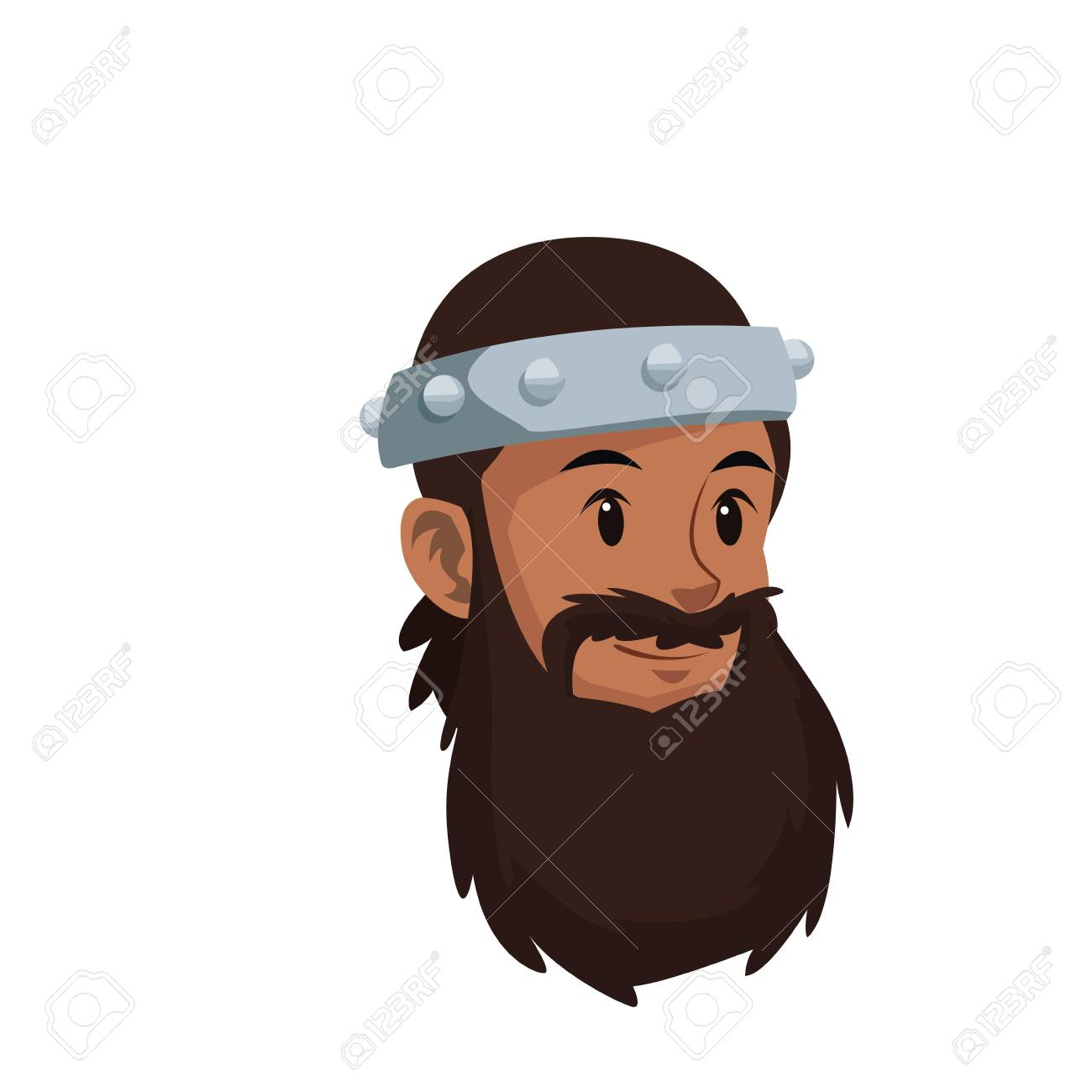 halloween costume viking man beard helmet vector illustration Stock Vector - 80044779  sc 1 st  123RF.com & Halloween Costume Viking Man Beard Helmet Vector Illustration ...