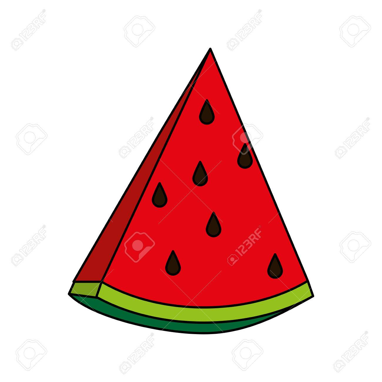 sweet fruit watermelon vector icon illustration design graphic rh 123rf com watermelon vector free watermelon vector download