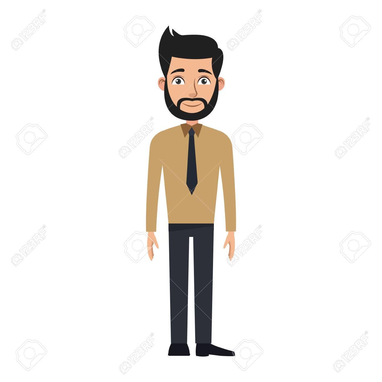 business man cartoon character young male professional vector rh 123rf com business man cartoon picture businessman cartoon character free download
