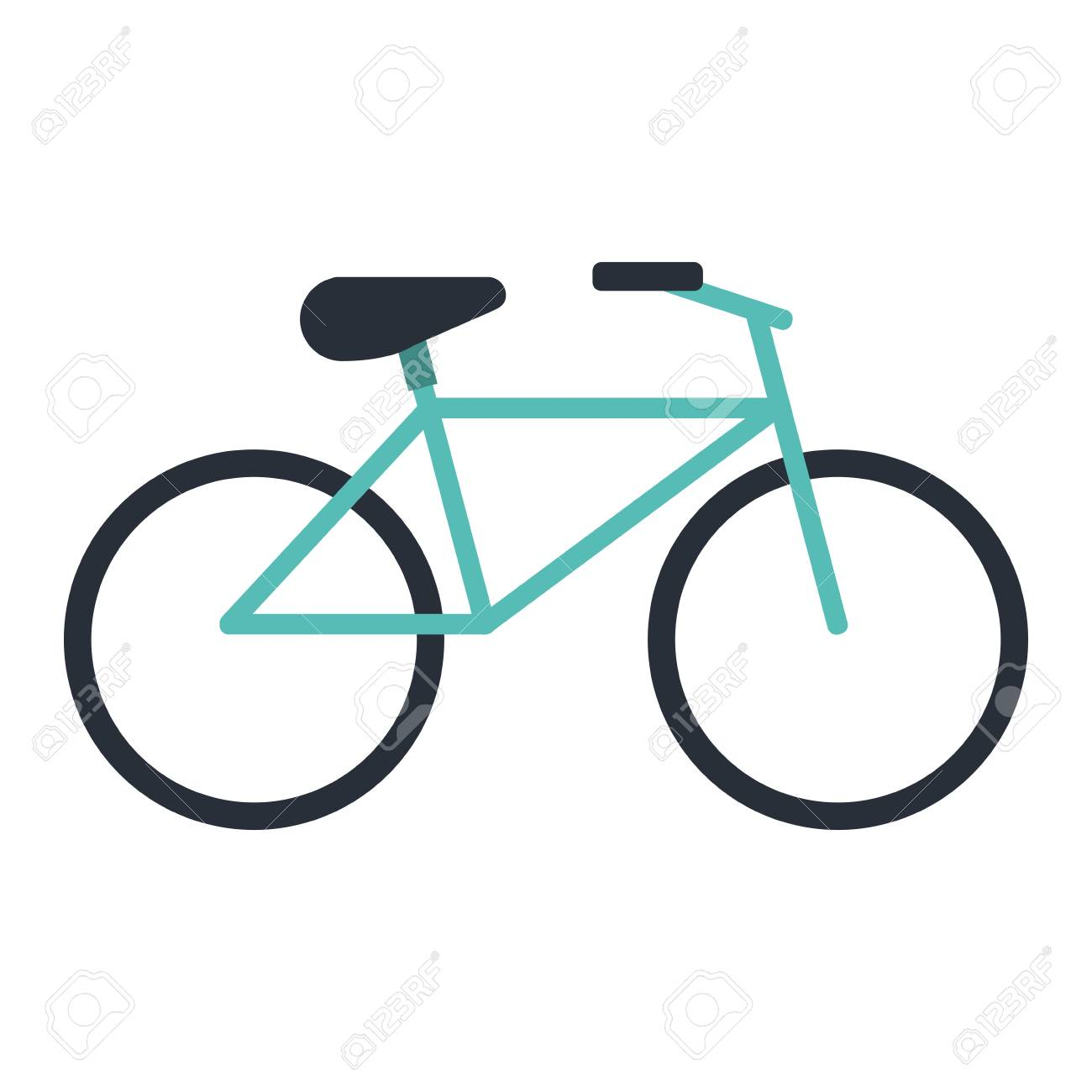 bike or bicycle icon image vector illustration design royalty free rh 123rf com vector bike wheel vector biker wear