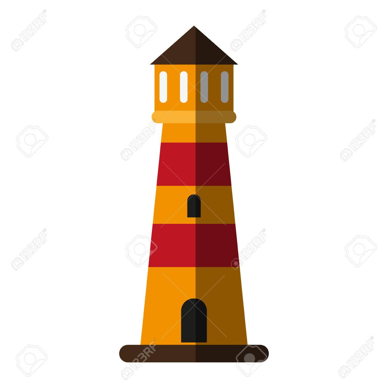 striped lighthouse icon image vector illustration design royalty rh 123rf com lighthouse vector file lighthouse vector png