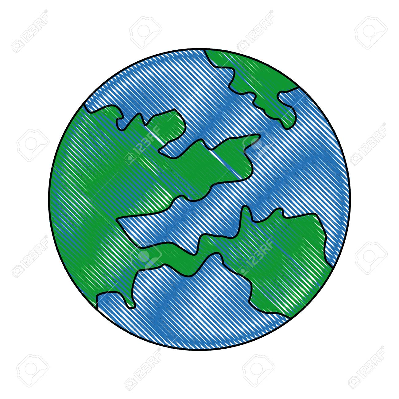 Round Globe Map.Map Global World Earth Round Icon Vector Illustration Royalty Free