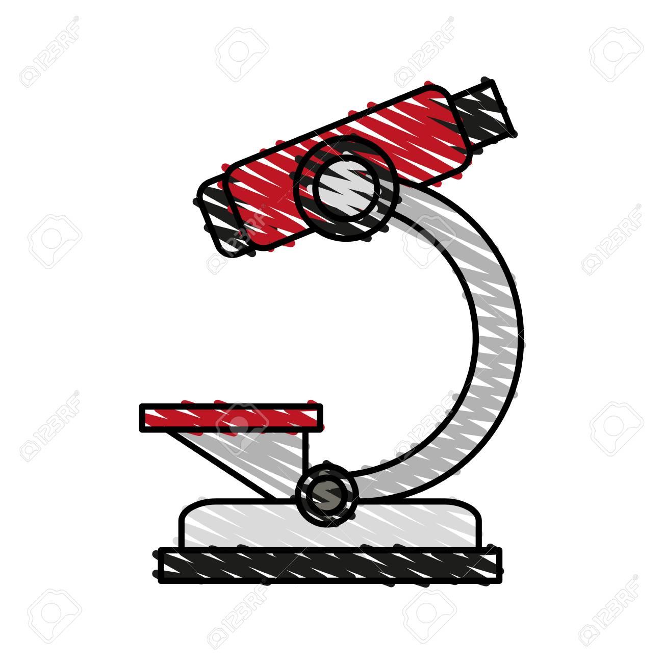 Medical instrument exam samples doodle vector illustration design