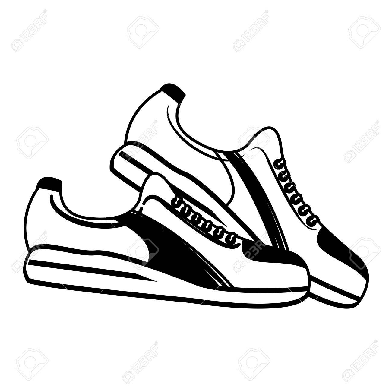 single sneaker sport shoe icon image vector illustration design rh 123rf com sneaker vectoriel sneaker vector art