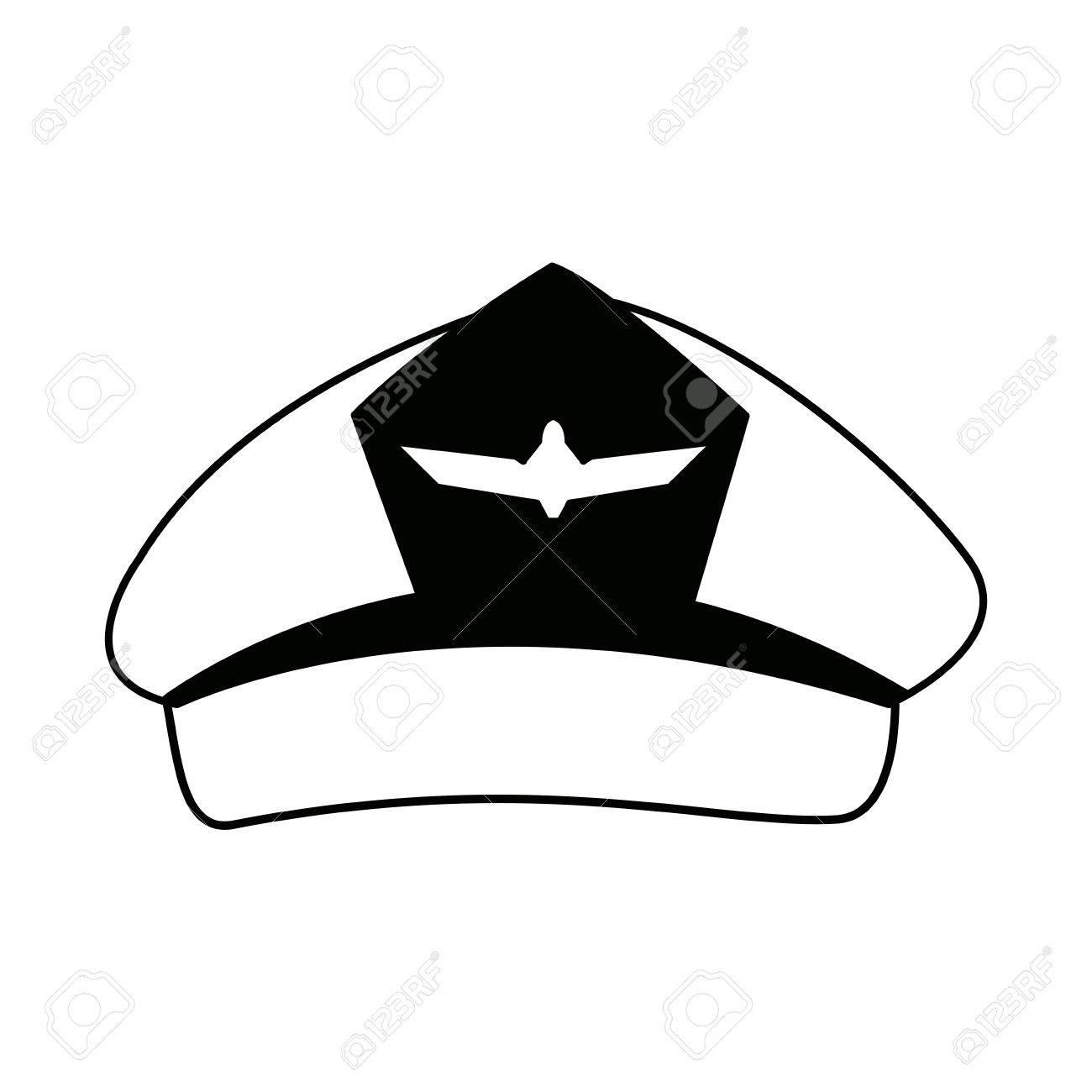 Pilotos De La Aviación Casquillo Aviador Sombrero Con Insignias ...