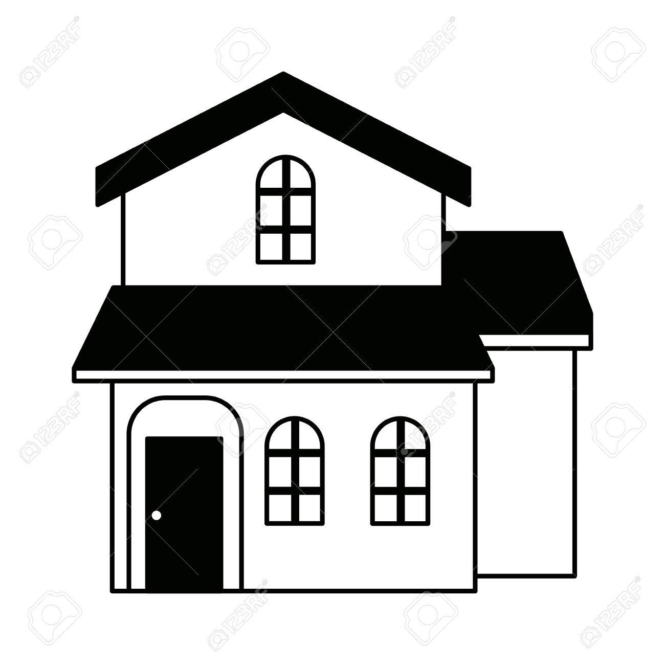 traditional house swiss architecture style isolated on white rh 123rf com house vector art house vector art