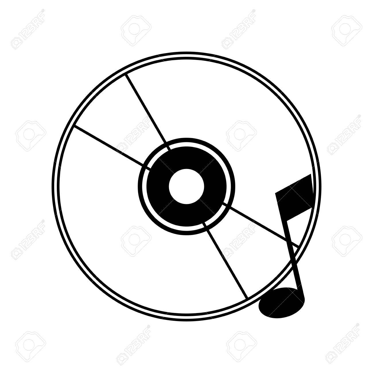 cd with quaver or eight note music icon image vector illustration rh 123rf com cd victoria tamps cd victoria tamaulipas