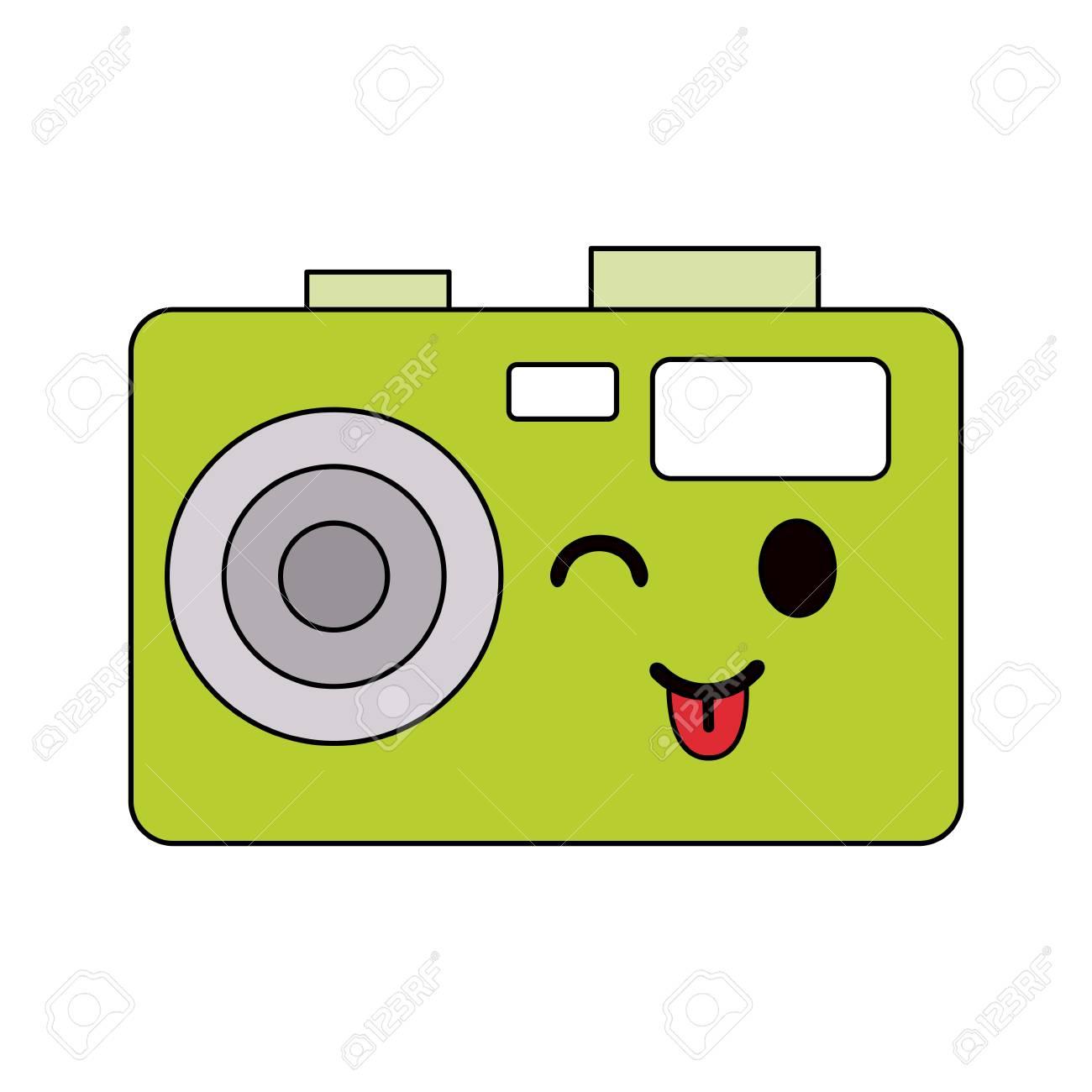 写真カメラ スタイル アイコン画像ベクトル イラスト デザイン