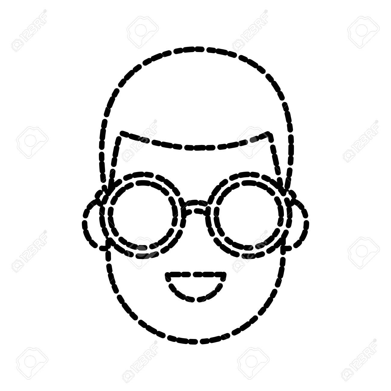 De Dibujos Con Icono Hombre Joven Animados Sol Ilustración La Diseño Gafas Vectorial Gráfico XiOkZuP
