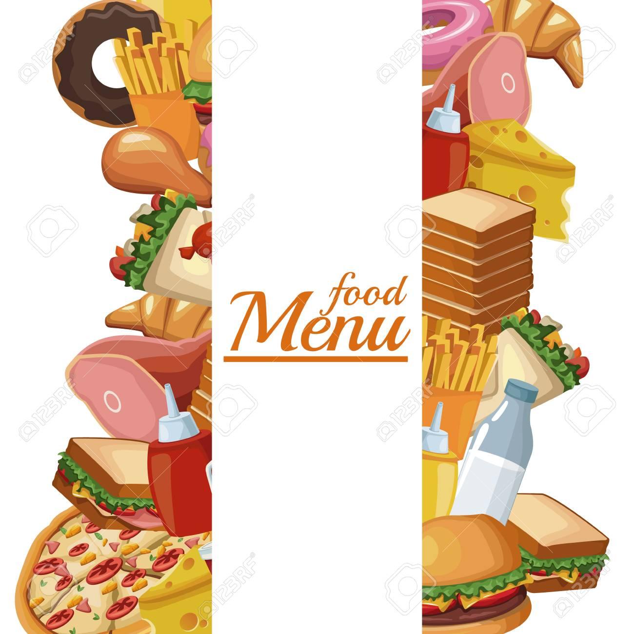 diseño gráfico del ejemplo del vector del icono del menú del