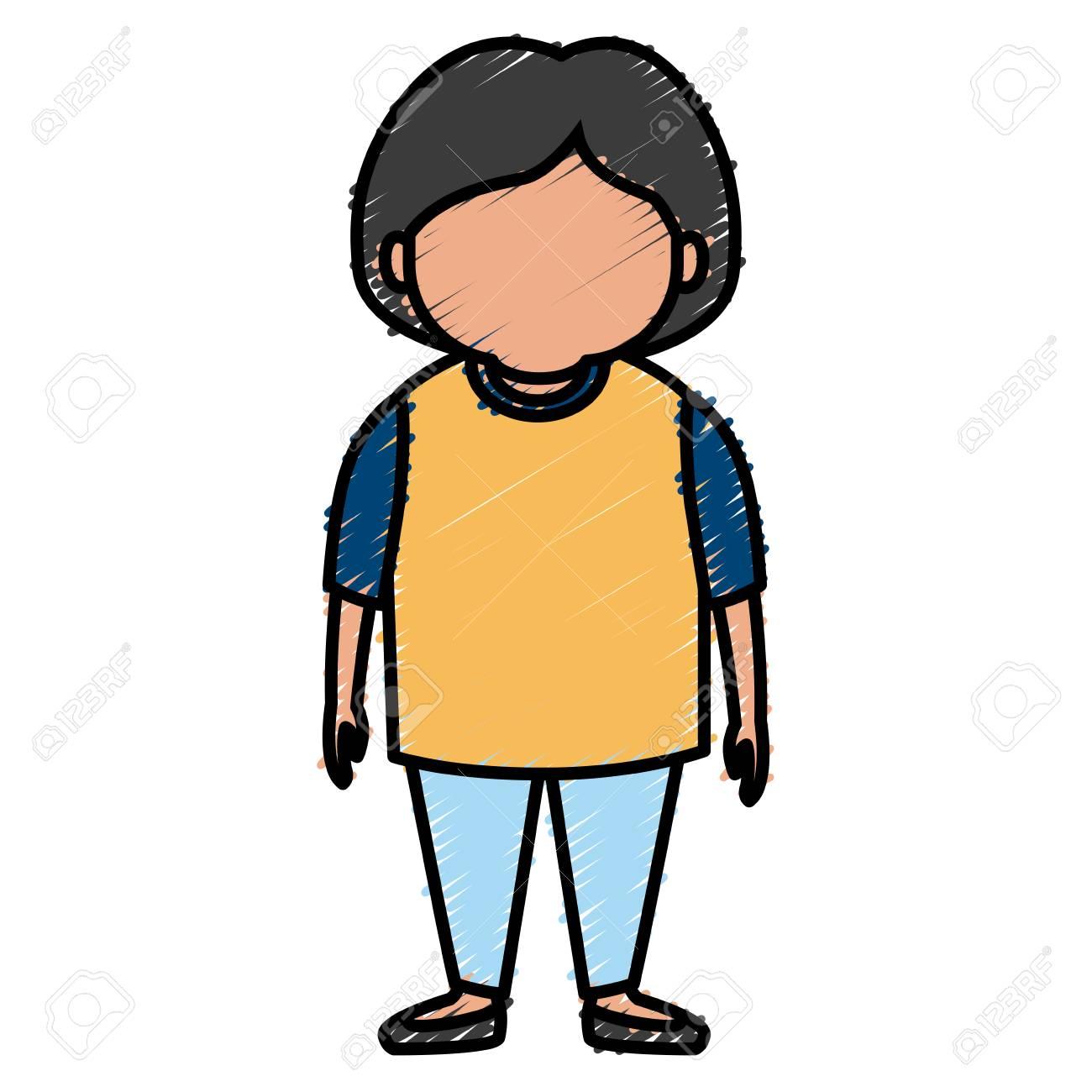 かわいいおばあちゃん漫画アイコン ベクトル イラスト グラフィック デザインのイラスト素材 ベクタ Image