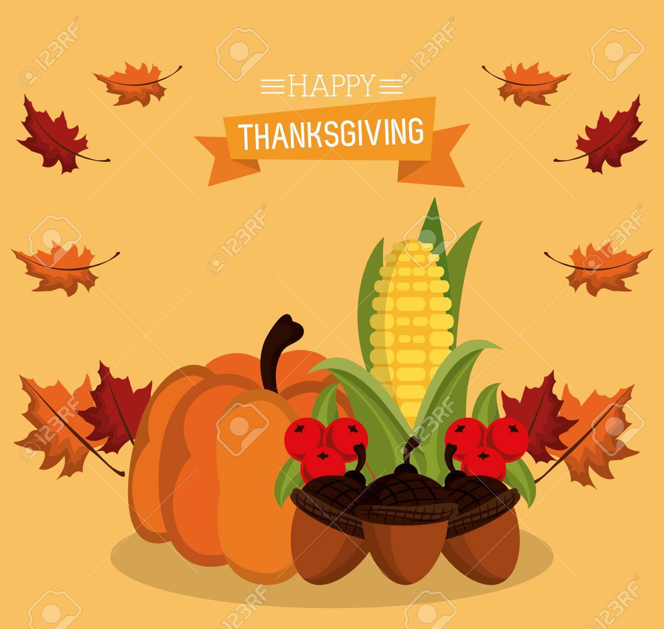 Happy thanksgiving card icon vector illustration graphic design happy thanksgiving card icon vector illustration graphic design stock vector 87695770 kristyandbryce Choice Image