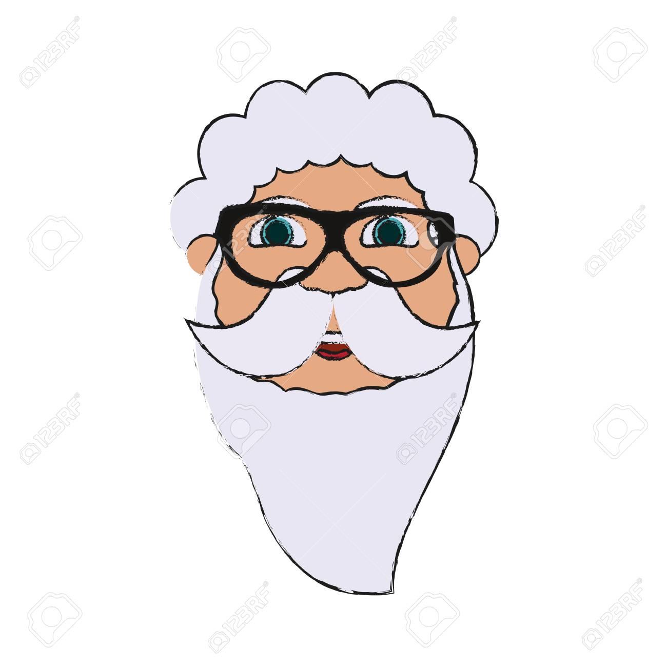 Animados Imagen Claus Del Gafas De Sol Dibujos Llevaba Santa 29eWIYEHD
